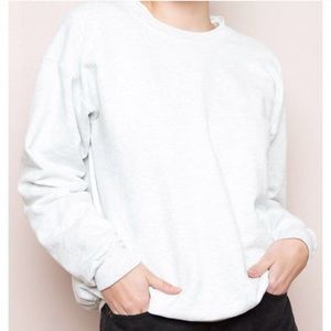 White brandy hoodie